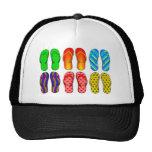 Flip Flops Colourful Fun Beach Theme Summer Gifts Cap