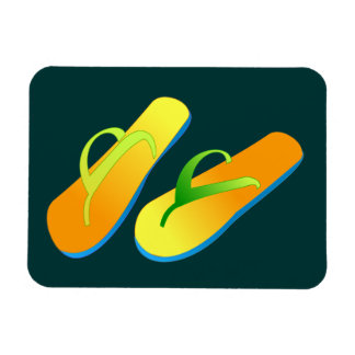 Flip Flops Flexible Magnet