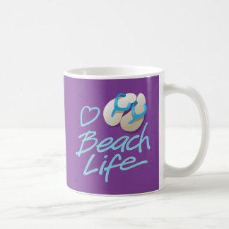 Flip Flops Heart Beach Life Souvenir Mug