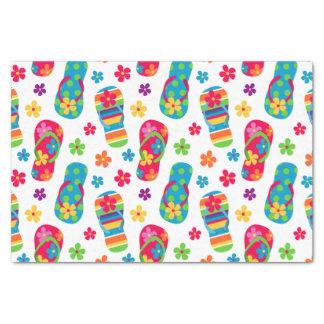 Flip Flops Pattern Tissue Paper