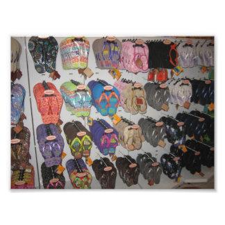 Flip-flops Photo Print