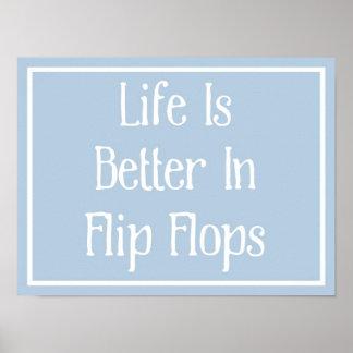 Flip Flops Poster