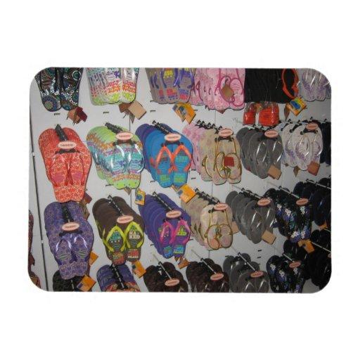 Flip-flops Vinyl Magnet