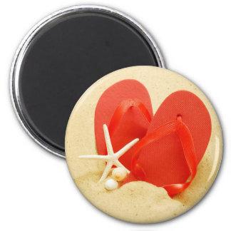 Flip-Flops Round Magnet