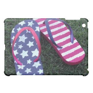 Flip Flops stars and stripes iPad Mini Covers