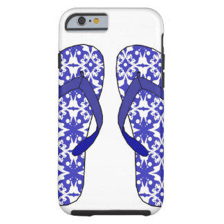 Flip Flops Tough iPhone 6 Case