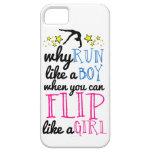 Flip Like a Girl Gymnastics iPhone 5/5s Case