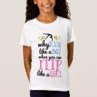 Flip Like a Girl Gymnastics T-Shirt