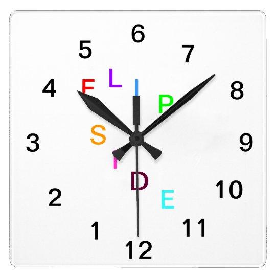 Flip Side Clock