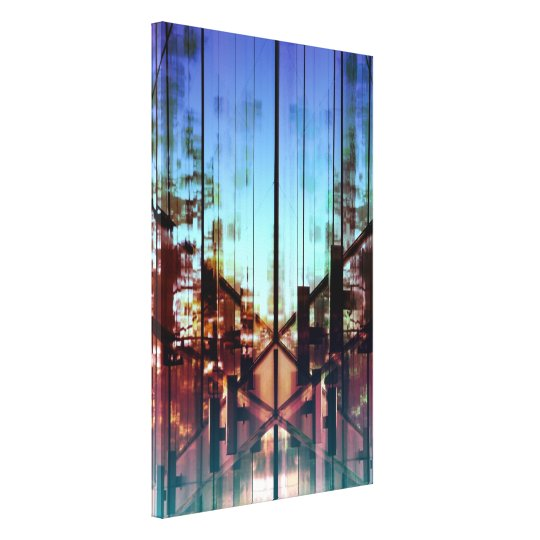 Flipped Lights Contemporary Fine Art Photography Canvas Print