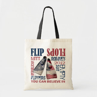 Flippers for Romney Tote Bag