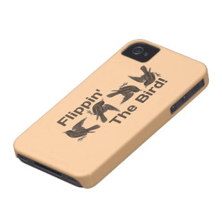 Flippin' The Bird Case-Mate iPhone 4 Cases