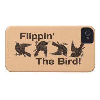 Flippin' The Bird Case-Mate iPhone 4 Case