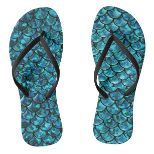 4abd773fbacce8 Sea Mermaid Flip Flops   Sandals