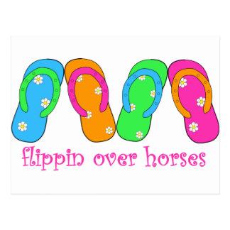 flippinoverhorses postcards