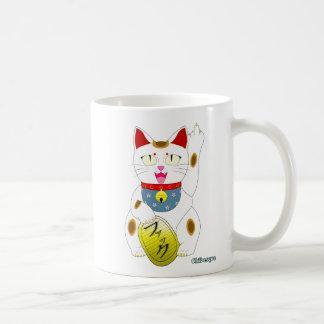 Flippy Cat Basic White Mug