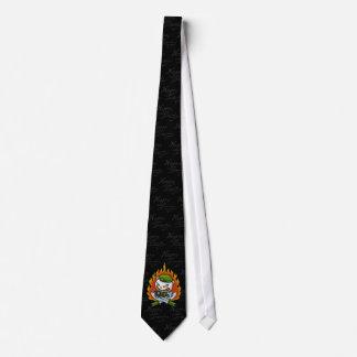 Flippy Fancy Flame TatTie Tie