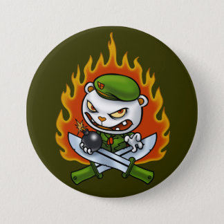 Flippy Flame Tattoo Button