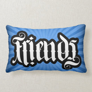 FlipScript Ambigram Lumbar Pillow