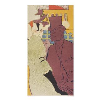 Flirt by Henri de Toulouse-Lautrec Customised Photo Card