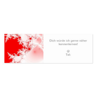 Flirt map more near become acquainted with pack of skinny business cards