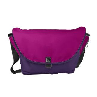 Flirt Purple Background Courier Bags