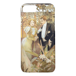 Flirt vintage Mucha iPhone 8/7 Case