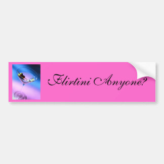 Flirtini Anyone? Car Bumper Sticker