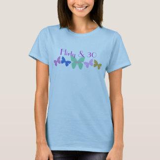 Flirty & 30, Butterflies in a row T-Shirt