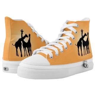 Flirty Giraffe Printed Shoes