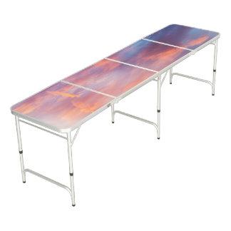flirty sky beer pong table