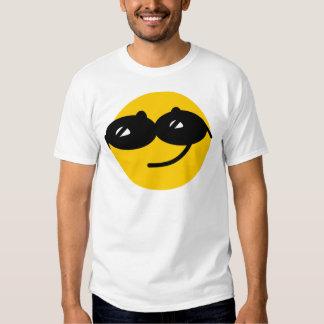 Flirty sunglasses smiley face t shirts
