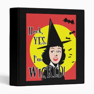 Flirty Wicked Witch Binder