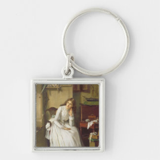 Flo Dombey in Captain Cuttle's Parlour Key Ring