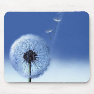 Float Away Dandelion Mouse Pad