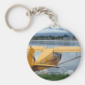 Float plane 6, Lake Hood, Anchorage, Alaska, USA Key Ring
