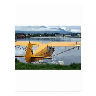 Float plane 6, Lake Hood, Anchorage, Alaska, USA Postcard