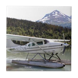 Float plane, Trail Lake, Alaska 3 Tile