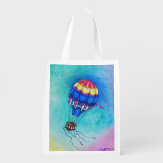 Floating Adrift Reusable bag