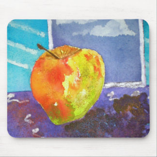 Floating Apple Mouse Mat