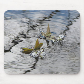 Floating Blossoms Mousepads
