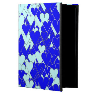 Floating Blue Hearts Case For iPad Air
