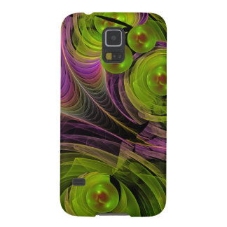 Floating bubbles, abstract fractal cases for galaxy s5