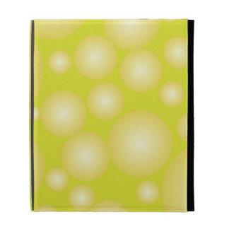 Floating Bubbles iPad Folio Cover