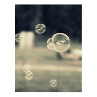 Floating Bubbles Postcard