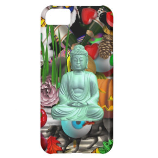 Floating Buddha Abstract iPhone Case iPhone 5C Case