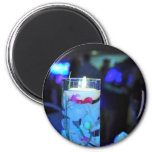 Floating Candle Magnet-round