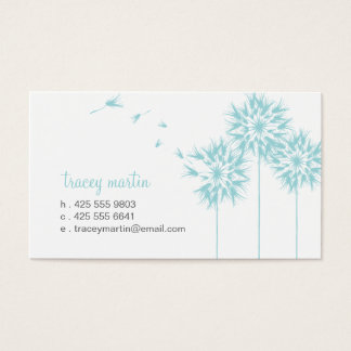 Floating Dandelion Calling Card