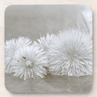 """Floating Dandelions on """"Water"""" Coasters"""