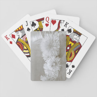 """Floating Dandelions on """"Water"""" Playing Cards"""